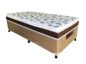 CAMA BOX D28 88X188X50 MERON SAFIRA C/PILLOW