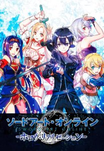 Banner Sword Art Online Personagens
