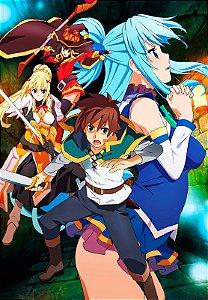Banner Konosuba Personagens