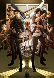 Banner Shingeki no Kyojin Personagens