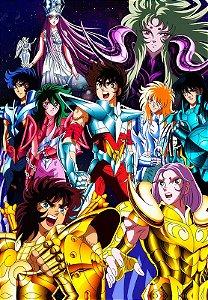 Banner Cavaleiros do Zodíaco