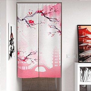 Noren Cortina de porta Sakura