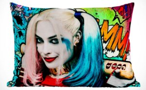 Fronha Travesseiro Suicide Squad Harley Quinn