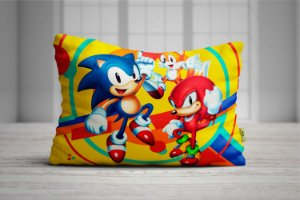 Fronha Travesseiro Sonic Mania