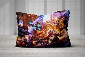 Fronha Travesseiro Overwatch Confronto