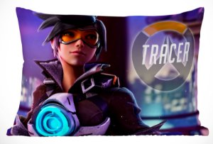Fronha Travesseiro Overwatch Tracer