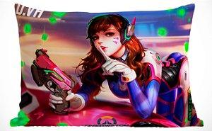 Fronha Travesseiro Overwatch D.Va