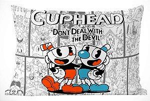 Fronha Travesseiro Cuphead