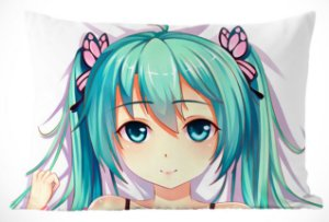 Fronha Travesseiro Vocaloid Hatsune Miku Daki