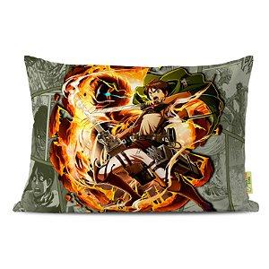 Fronha Travesseiro Shingeki no Kyojin Eren Jaeger
