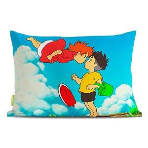 Fronha Travesseiro Ponyo e Sosuke