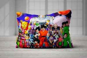 Fronha Travesseiros Dragon Ball Super Personagens