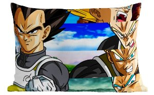 Fronha Travesseiro Dragon Ball - Vegeta