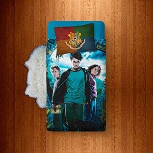 Lençol Solteiro e fronha Harry Potter - Prisioneiro de Askaban