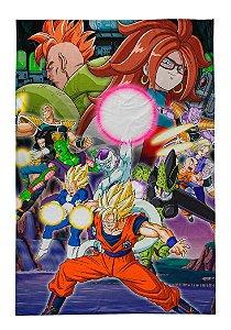 Lençol Solteiro Dragon Ball Z