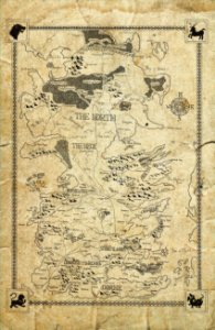 Cortina Game Of Thrones Mapa
