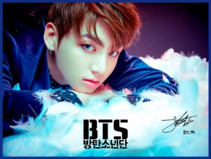 Cortina Kpop BTS Wings Jungkook