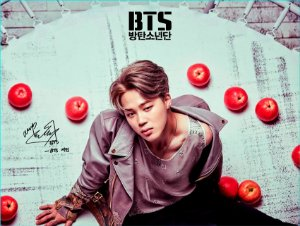 Cortina Kpop BTS Jimin