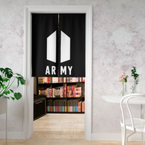 Noren cortina de porta Kpop BTS Army