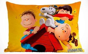 Fronha Travesseiro Peanuts - Snoopy