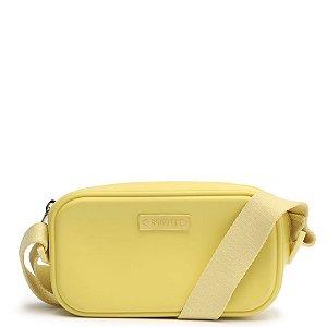 Bolsa pequena transversal Schutz Amarela