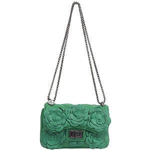 Bolsa La Spezia (BC0892) Couro Verde