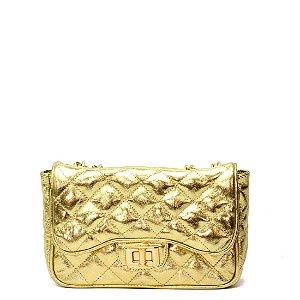 Bolsa La Spezia (BI1229) Laminado Ouro