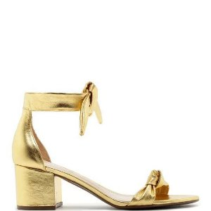 Sandália Schutz (AS9929) Laminado Ouro