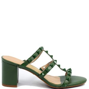 Sandália UZA (BF4192) Couro Verde