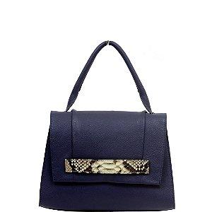 Bolsa Cláudia Mourão (BO0479) Couro Azul