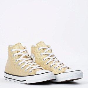 Tênis Converse All Star (BM6029) Laminado Ouro