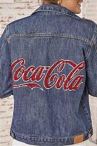 Jaqueta Bordada (BQ9609) Coca-Cola