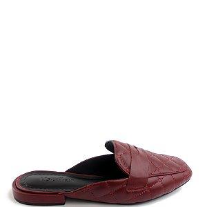 Mule Usaflex (BQ8469) Pelica Vermelho