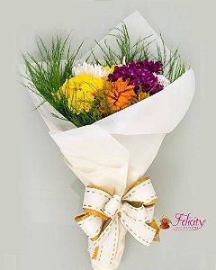Adicional - Mini buquê de flores do campo