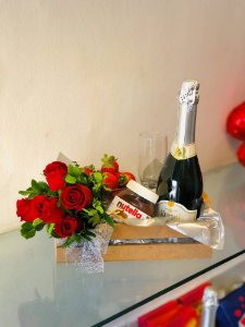 Espumante  & Rosas