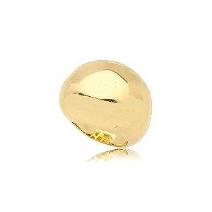 Anel Bola G Folheado Ouro Amarelo 18k