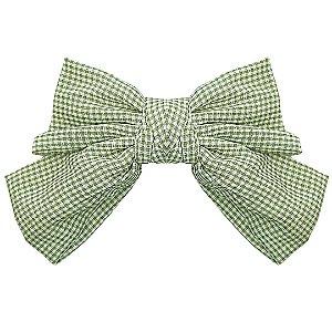 Presilha Laço Vichy Verde