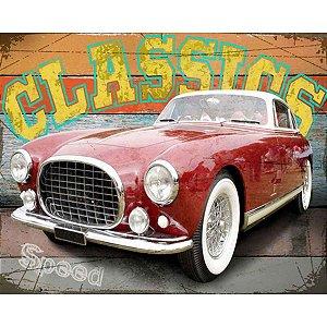 Tela Classics Carro Vermelho