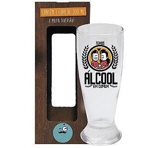 Copo de Cerveja Álcool em Comum 200 ml