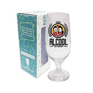 Taça de Cerveja Álcool em Comum 300 ml