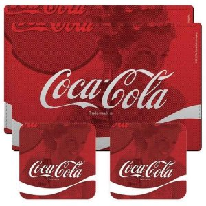 Jogos Americanos Coca-Cola Trade Mark 4 Peças