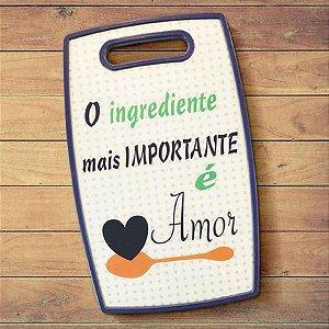 Tábua de Corte - O Ingrediente Mais Importante é Amor