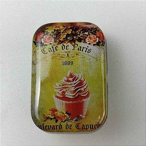 Latinha Colecionável Metal Café de Paris