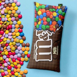 Almofada Candy Chocolate M&M