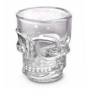 Copo Shot Caveira Skull Dose 50ml