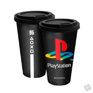 Copo Fun 550 ml Gamer Playstation