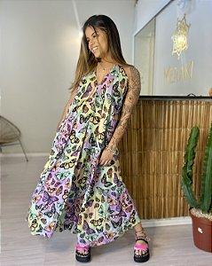 Vestido Amplo Antonella - Voa Voa Meu Amor Tie Dye