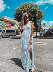 Vestido Jade Renda