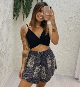 Short Soltinho - Abacaxi