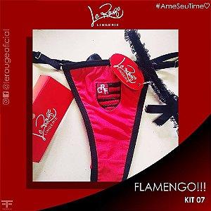 CALCINHA TIME FLAMENGO + PERSEX